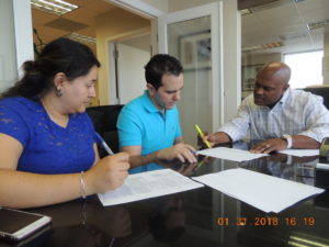 Signing the Miami-Home-Loan Docs